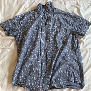 J Crew Short Sleeve Button Down